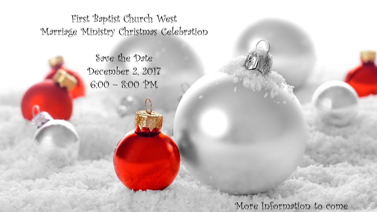 marriage ministry xmas