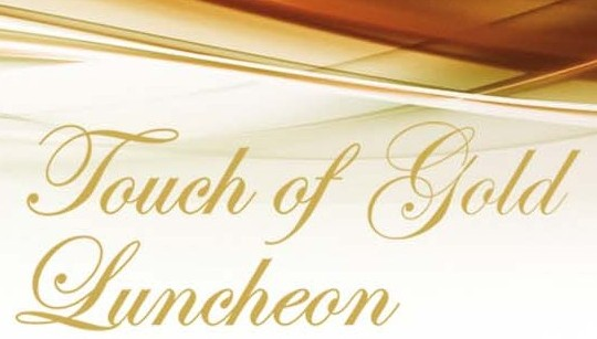 touch of gold luncheon